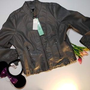 Pimkie Steel Gray Petite Jacket, New